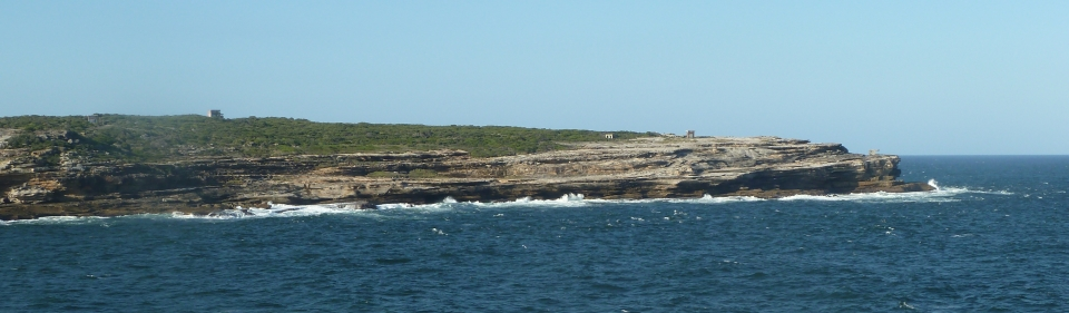 Eastern Bushland – Boora Point viewed from Randwick Golf Course on Buchan Point to the south