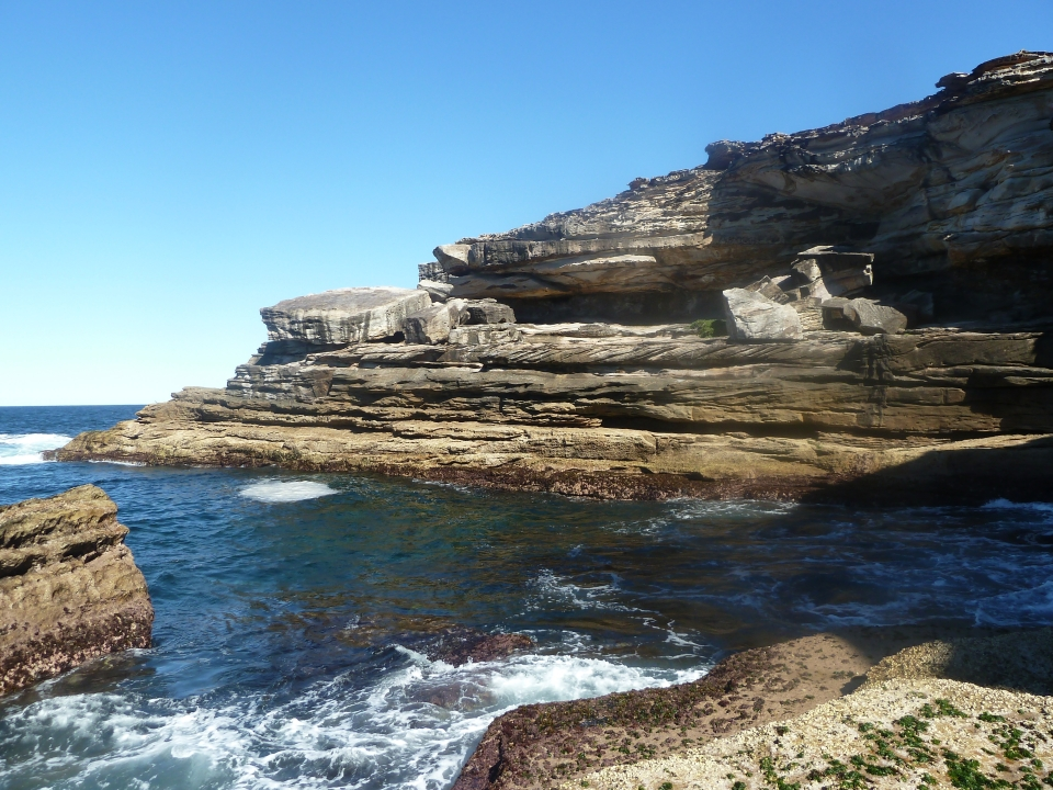 Coastline at Magic Point