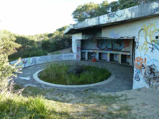 Northern gun emplacement