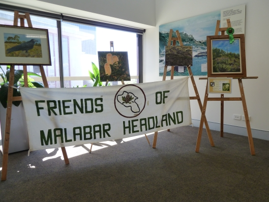 Friends of Malabar Headland Prize section of the exhibition